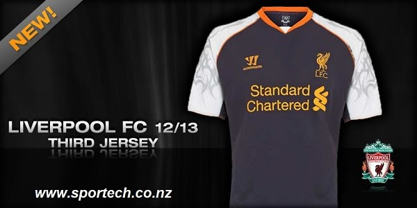 check out 69081 6f2d0 2012-13 Liverpool Third - Sportech