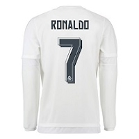Real Madrid Mens Long Sleeve with RONALDO