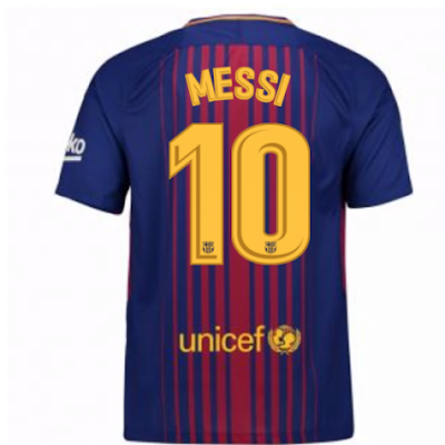 Nike Barcelona 2017/18 with MESSI 10